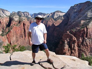Troy at Angel's Landing